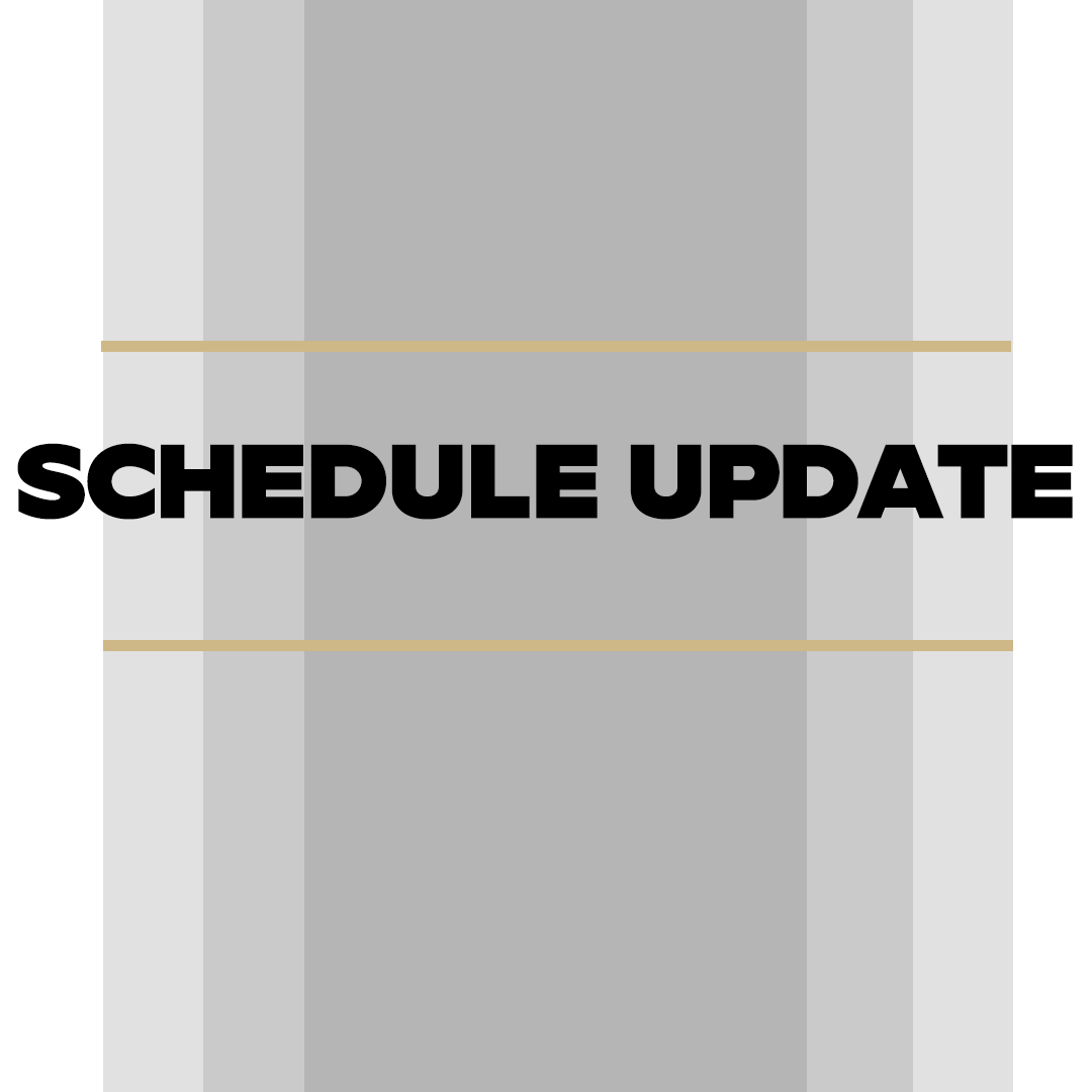 SCHEDULE UPDATE: SERIES vs. UAB CANCELLED